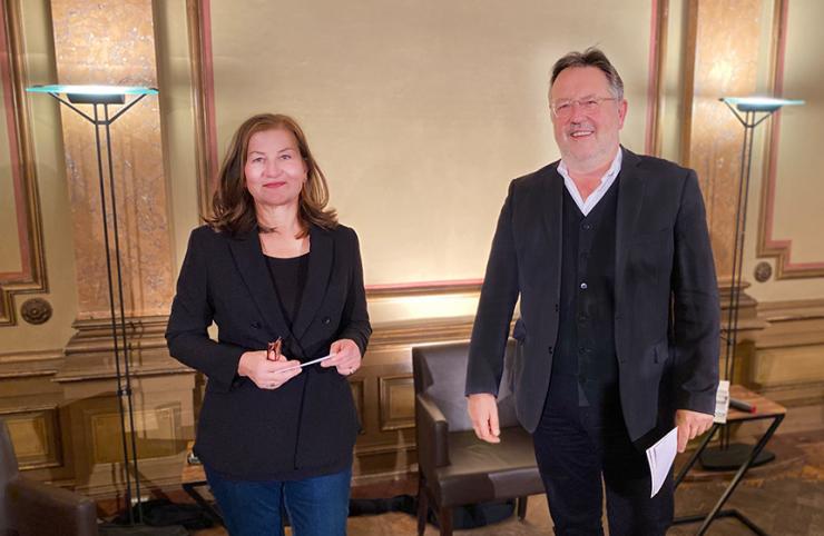 Ursula März und Rainer Moritz © Literaturhaus