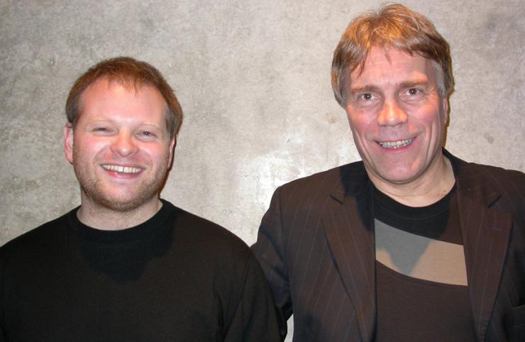 Kristof Magnusson und Einar Kárason © btb