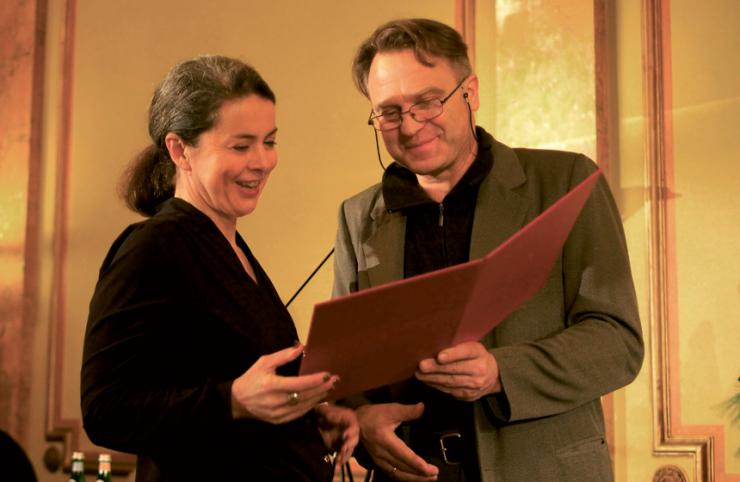 Maria Regina Heinitz und Pit Hosak © Katrin Silva