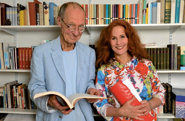 Hans Peter Korff und Christiane Leuchtmann © Anne–Huneck