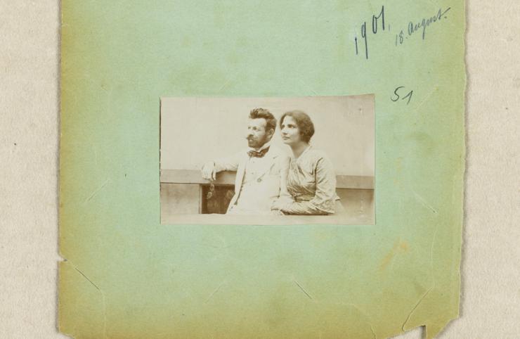 Foto (Richard und Ida Dehmel) © Staats- und Universitätsbibliothek Hamburg Carl von Ossietzky