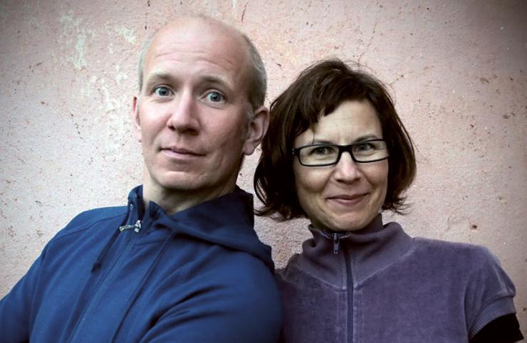 Ina Rometsch und Martin Verg © Eva Pradel
