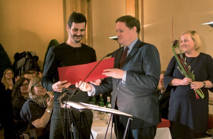 Jens Eisel und Carsten Brosda © Katrin Silva