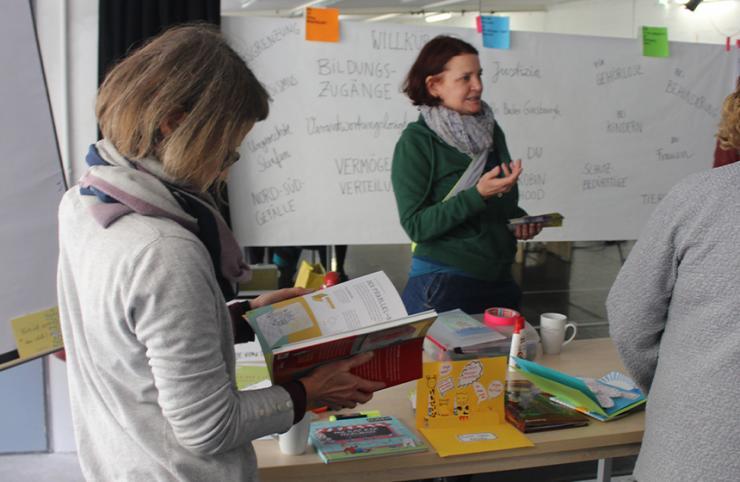Gedankenflieger-Fortbildung © Literaturhaus