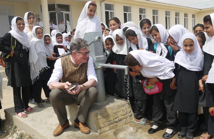 Roger Willemsen © Nadia Nashir/Afghanischer Frauenverein e.V.