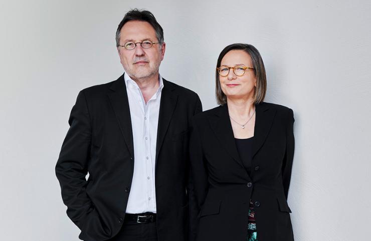 Annemarie Stoltenberg und Rainer Moritz © Gunter Glücklich
