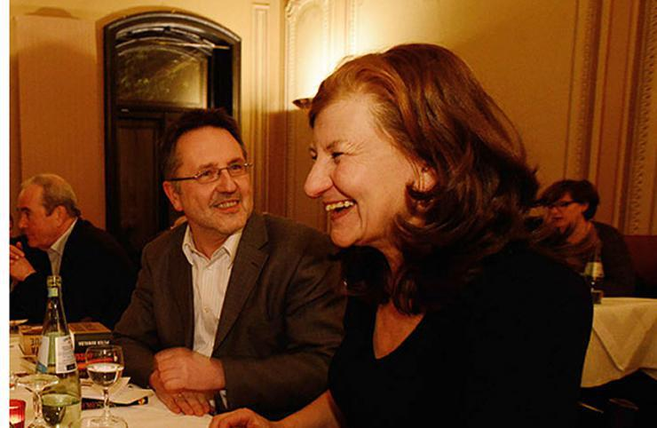 Ursula März und Rainer Moritz © Literaturhaus-Archiv